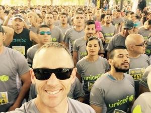Selfie at the start line